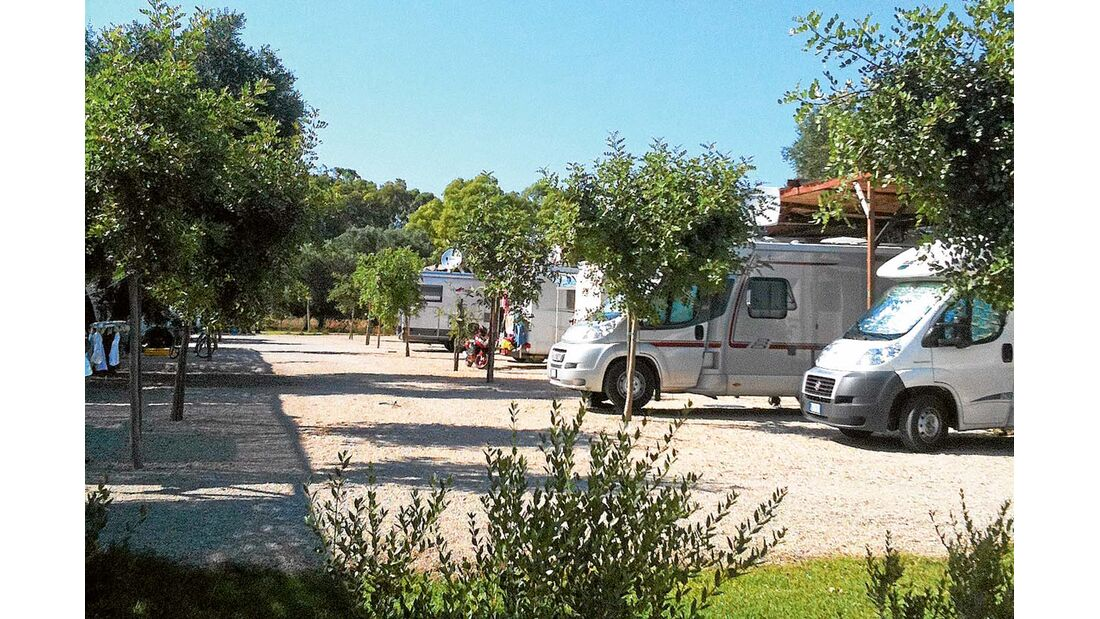 Stellplatz Porto Cesareo