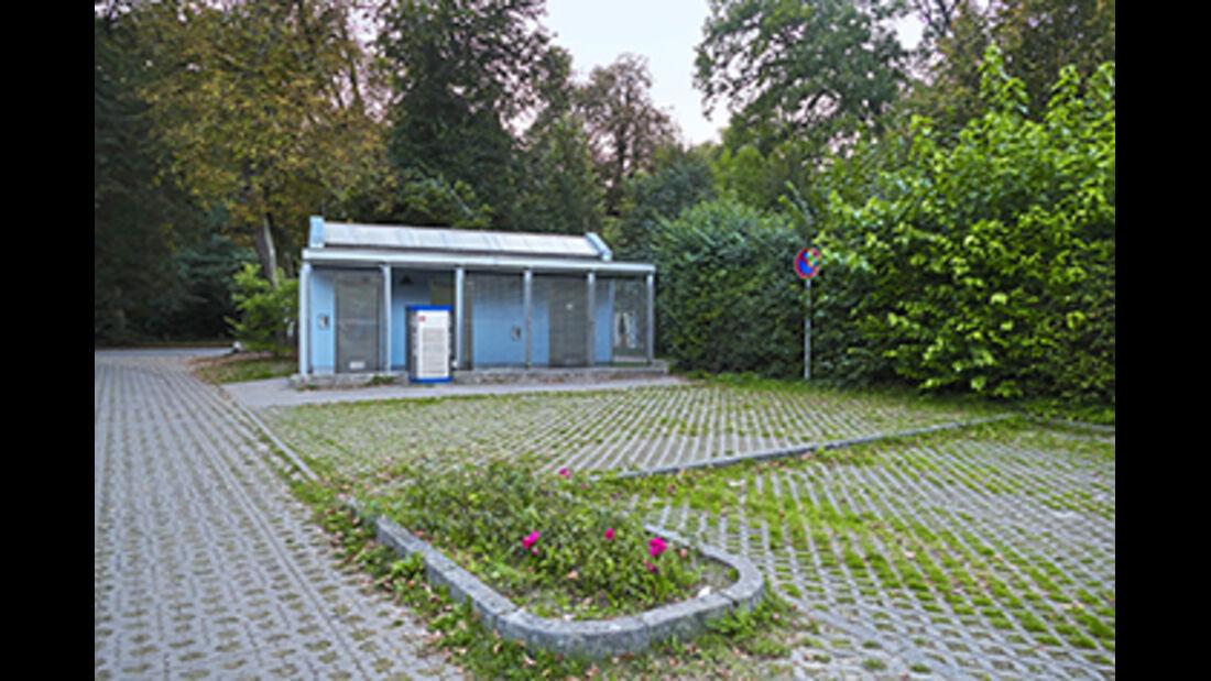 Stellplatz Schlossparkplatz in Mirow