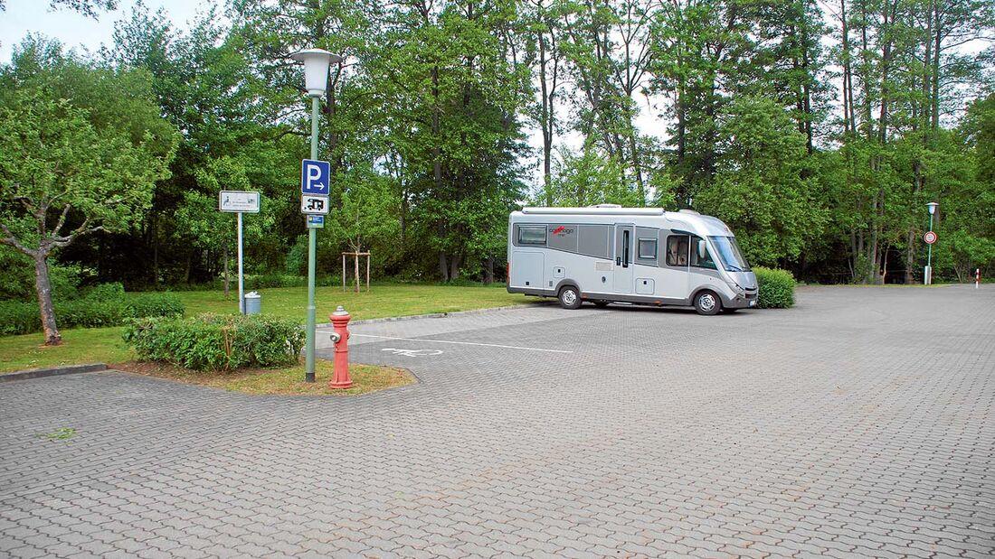 Stellplatz Seehofblick