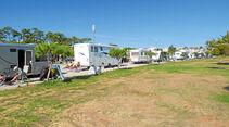 Stellplatz-Streifen in Vila