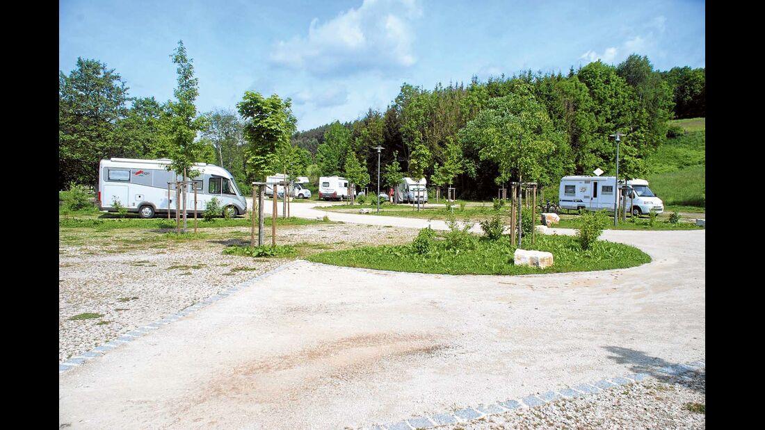 Stellplatz Therme Obernsees