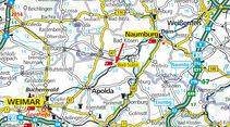 Stellplatz-Tipp:  Bad Sulza, Karte