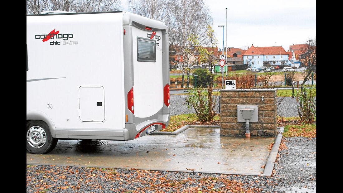 Stellplatz-Tipp Deutschland: Mainstockheim