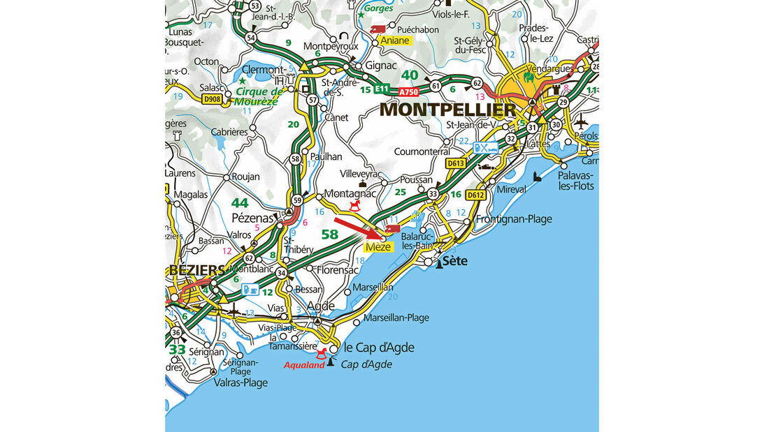 Stellplatz-Tipp Frankreich: Mèze