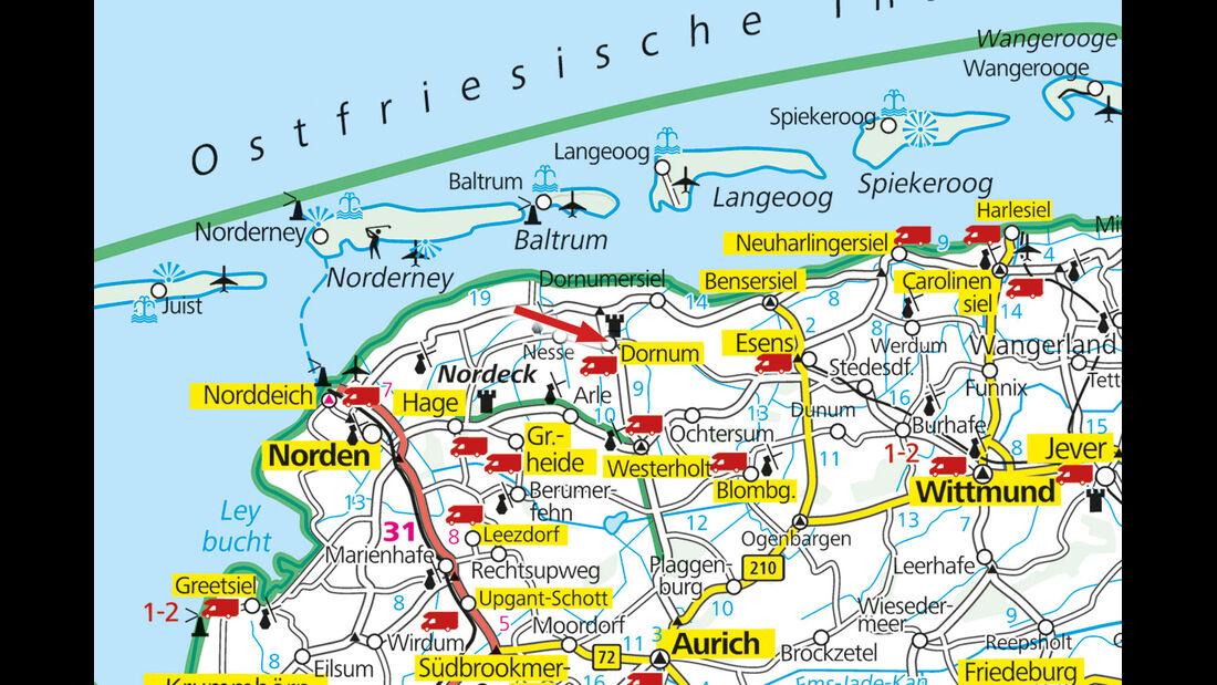 Stellplatz-Tipp Niedersachsen