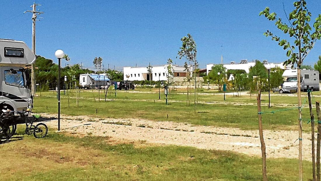Stellplatz-Tipp Otranto