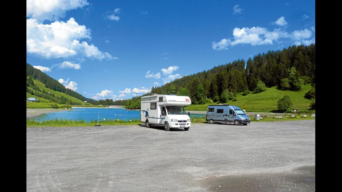 Stellplatz-Tipp Schweiz: Breil/Brigels