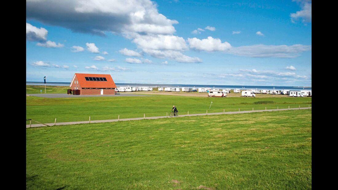 Stellplatz-Tipp: Wangerland, Nordseeküste