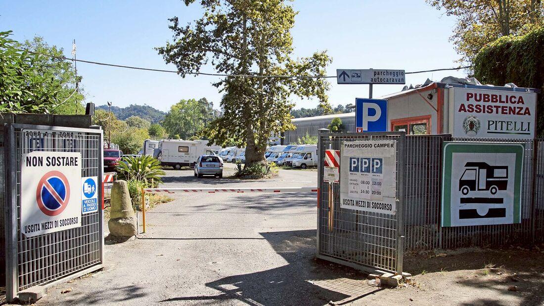 Stellplatz-Tipps Ligurien Ost