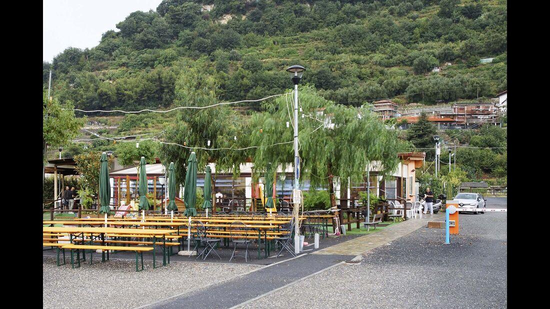 Stellplatz-Tipps Ligurien West