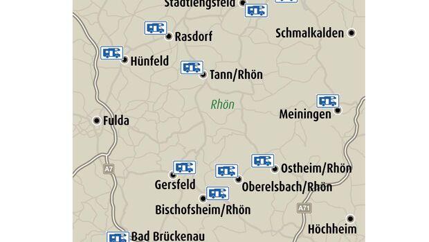Stellplatz-Tipps Rhön