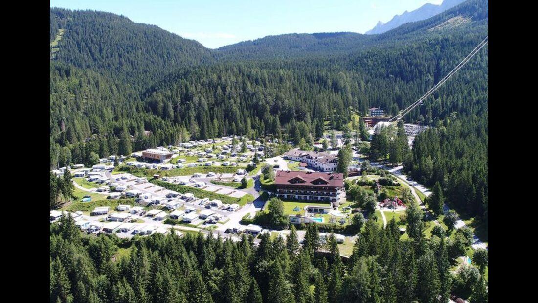 Stellplatz Tiroler Zugspitz Resort Camping
