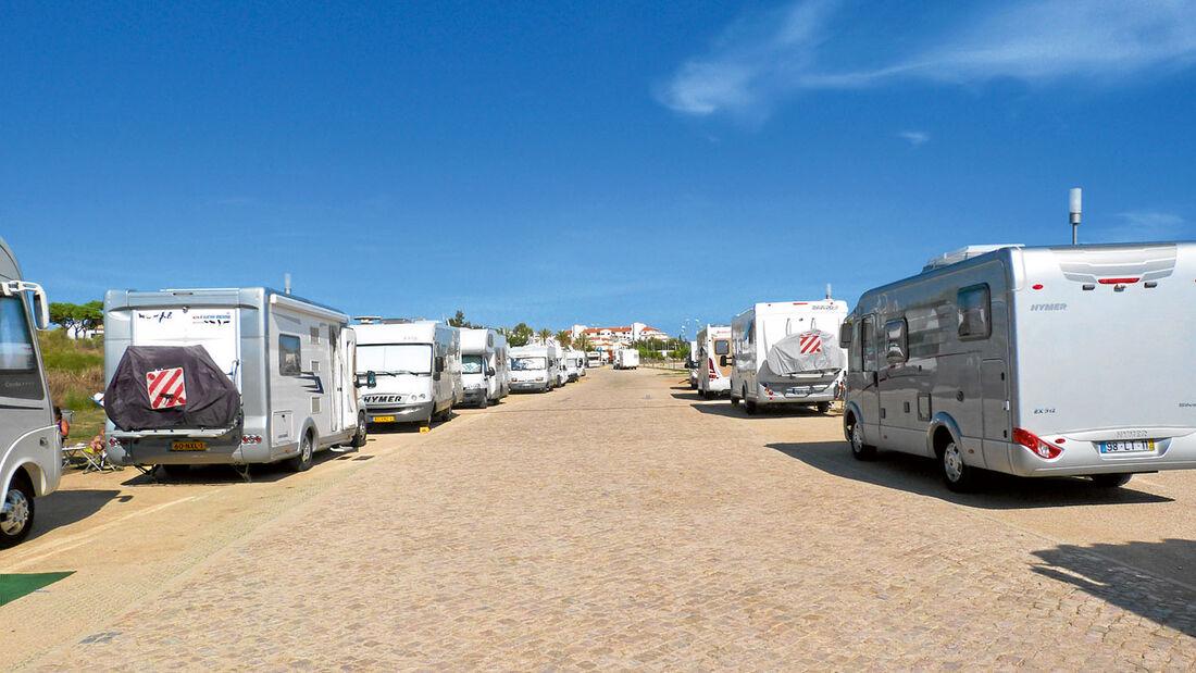 Stellplatz  Vila am Algarve-Strand