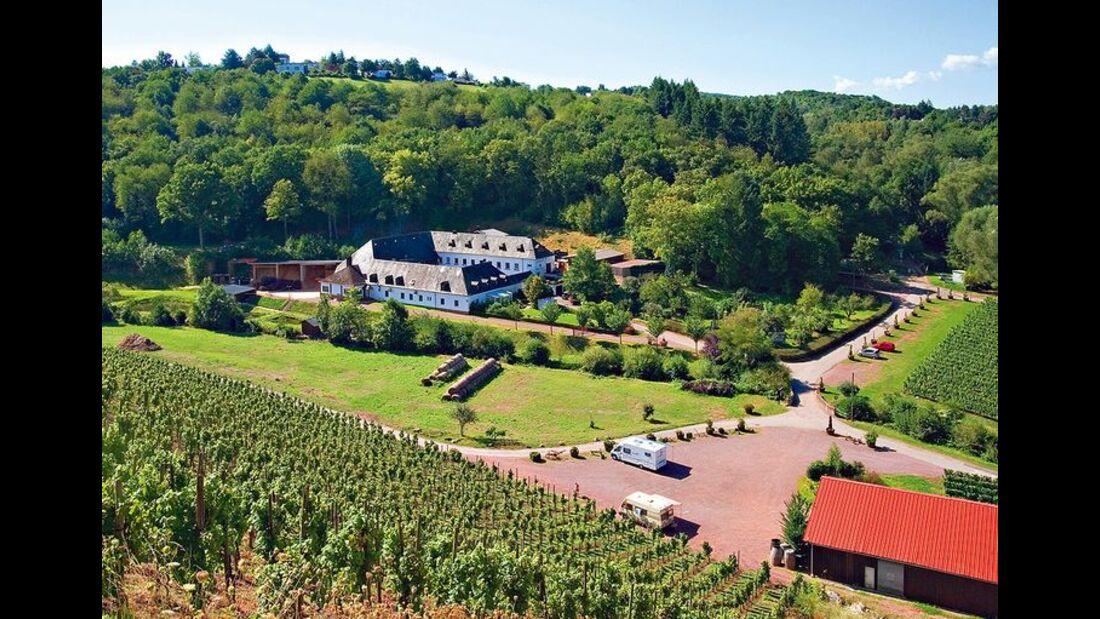 Stellplatz Weingut von Nell (Trier)