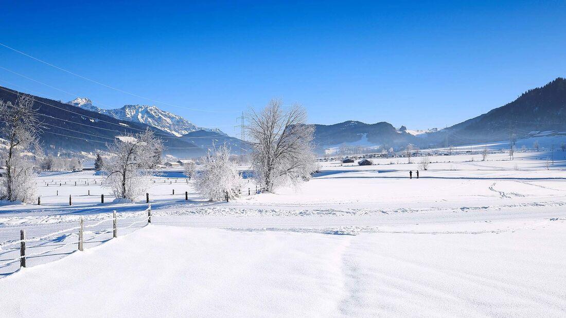 Stellplatz Winter