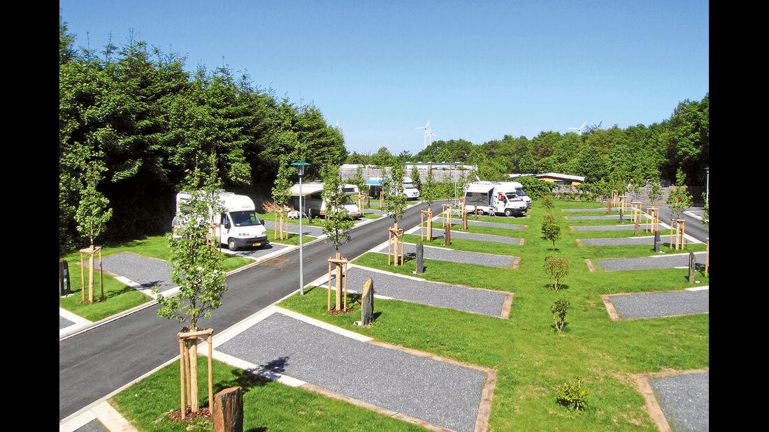 Stellplatz am Camping Fuussekaul