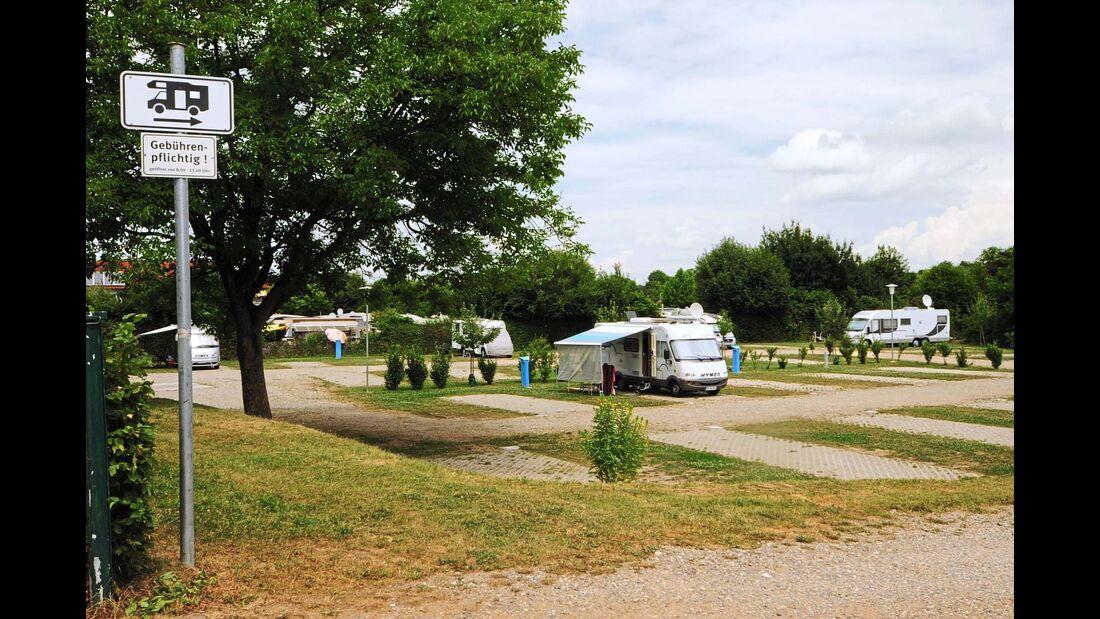 Stellplatz am Camping Müller-See