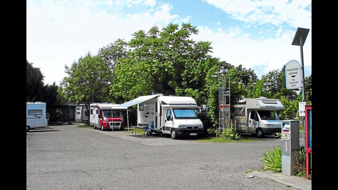 Stellplatz am Eschholzpark