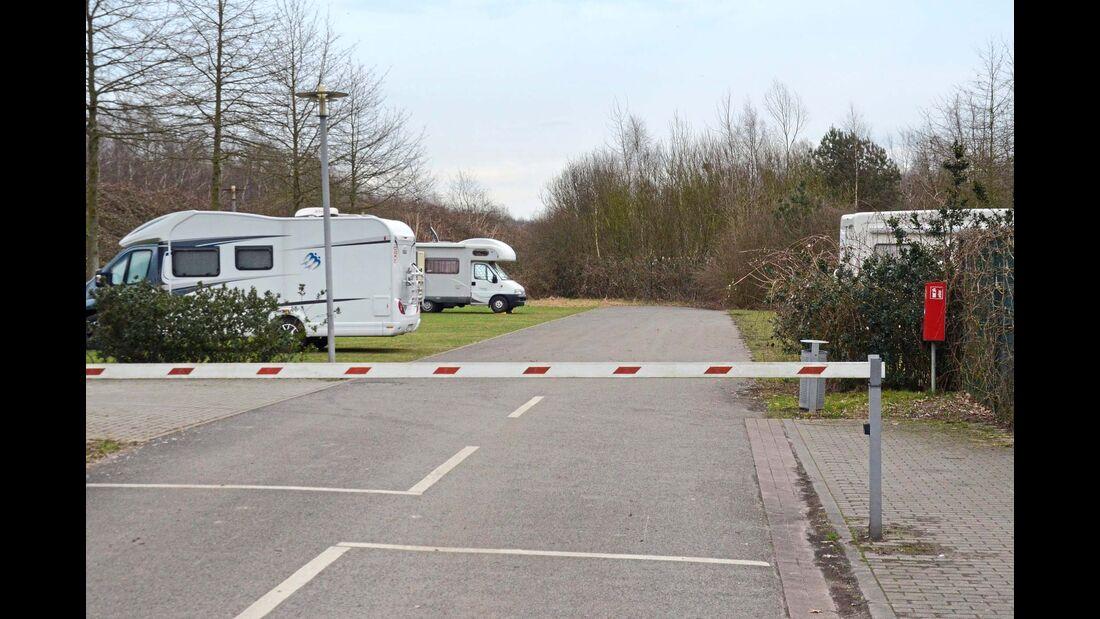 Stellplatz am Hanse-Camping