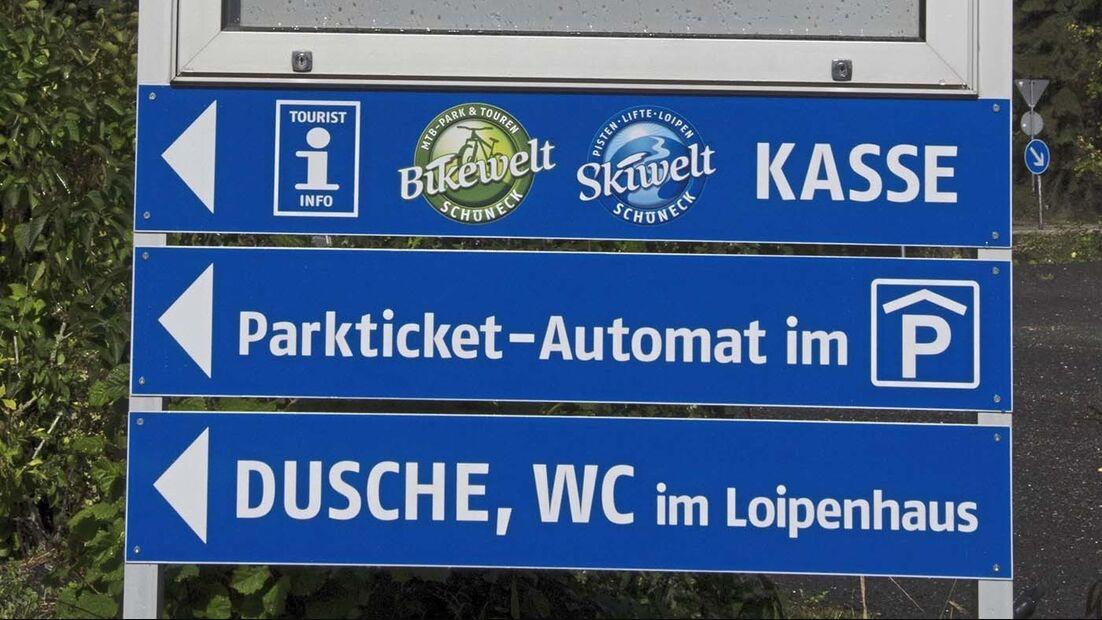 Stellplatz am IFA-Ferienpark