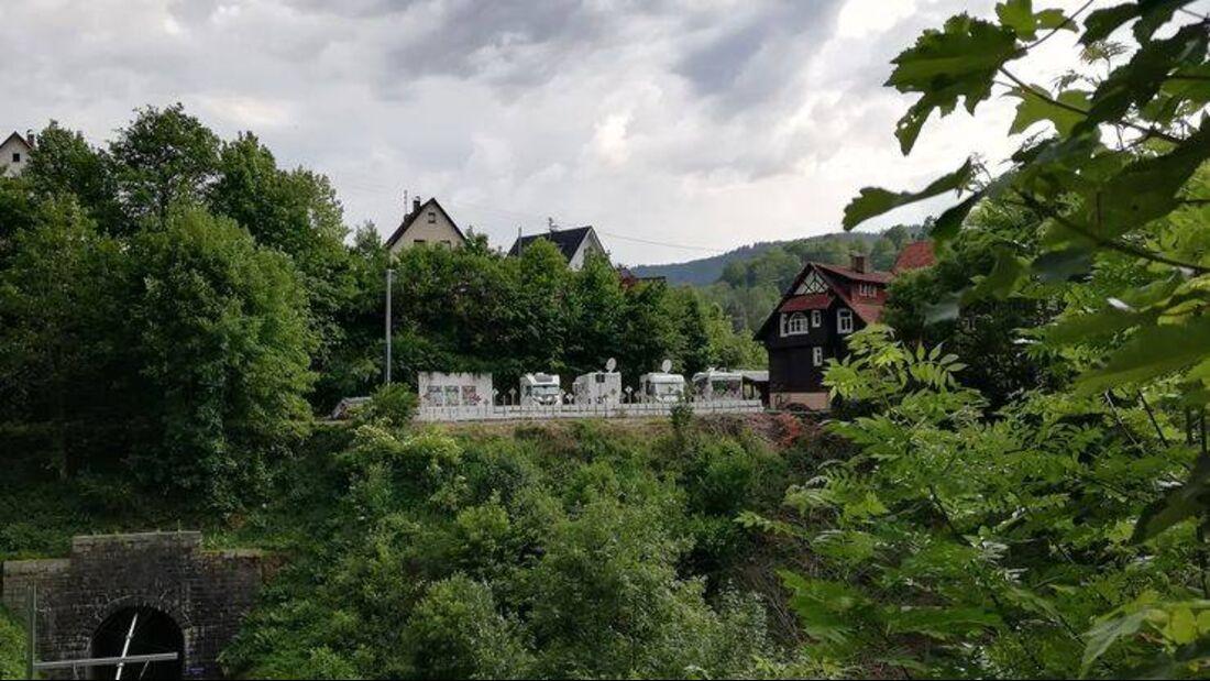Stellplatz am Rappenfels