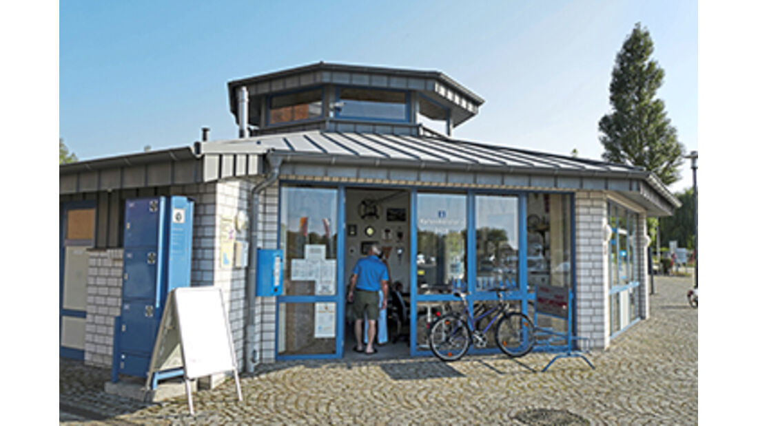 Stellplatz am Stadthafen in Neustrelitz