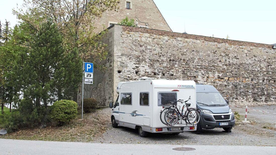 Stellplatz am Steinbruch
