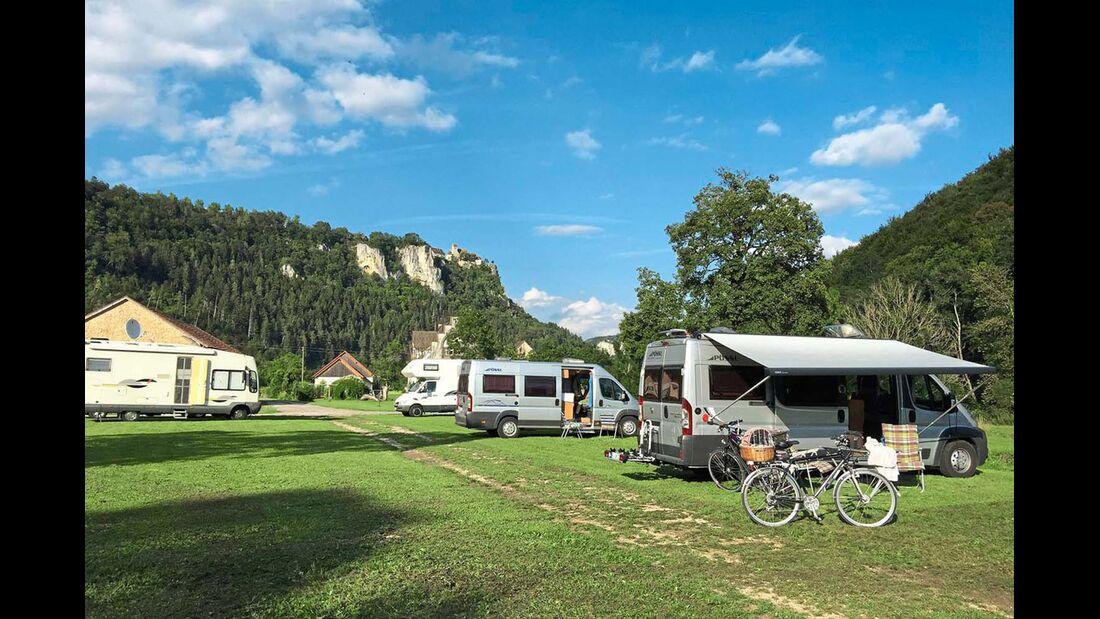 Stellplatz am Talhof in Beuron