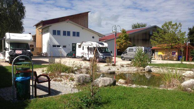 Stellplatz am Tenniszentrum Bernau