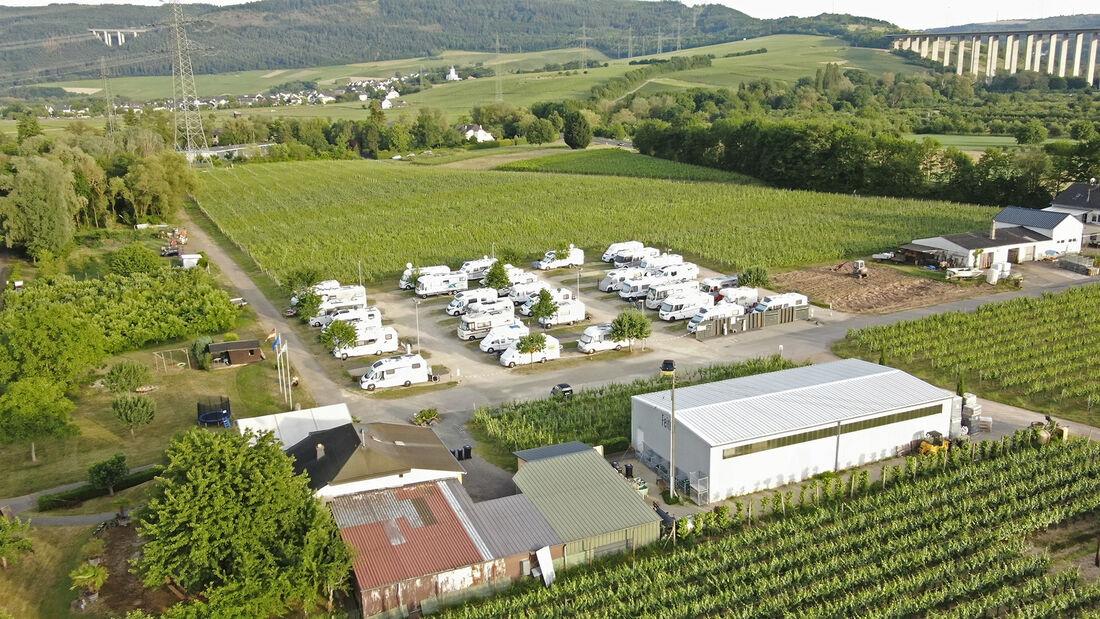 Stellplatz am Weingut Feiten