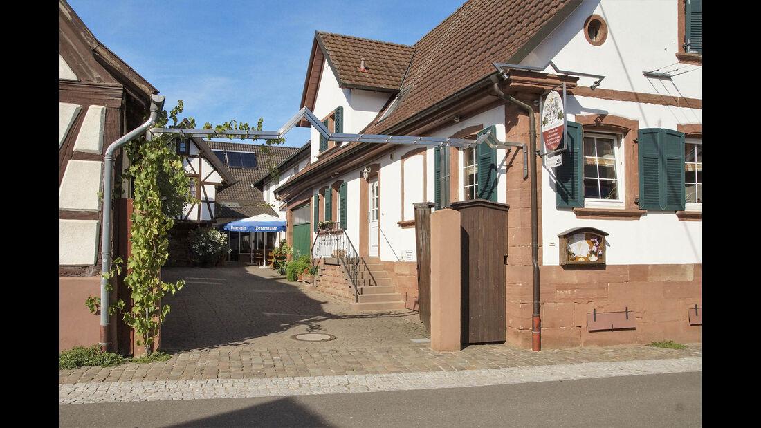 Stellplatz am Weingut Geiger