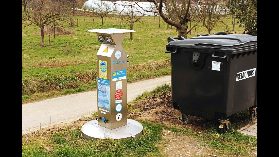 Stellplatz am Weingut Köbelin Entsorgungsstation