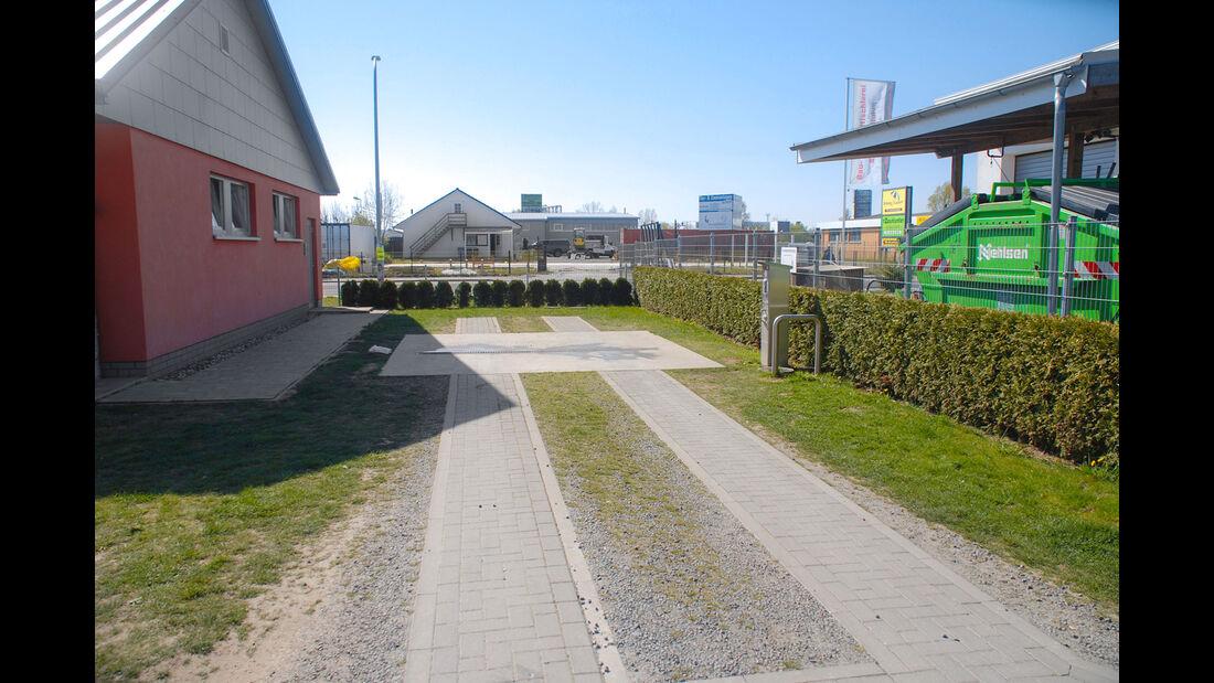 Stellplatz an der Rügenbrücke