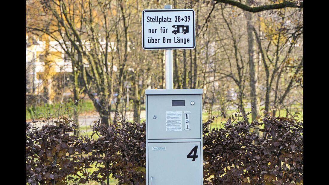 Stellplatz an der Waldsee-Therme Bad Waldsee