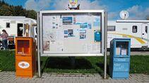 Stellplatz an der Waldsee-Therme Infokasten