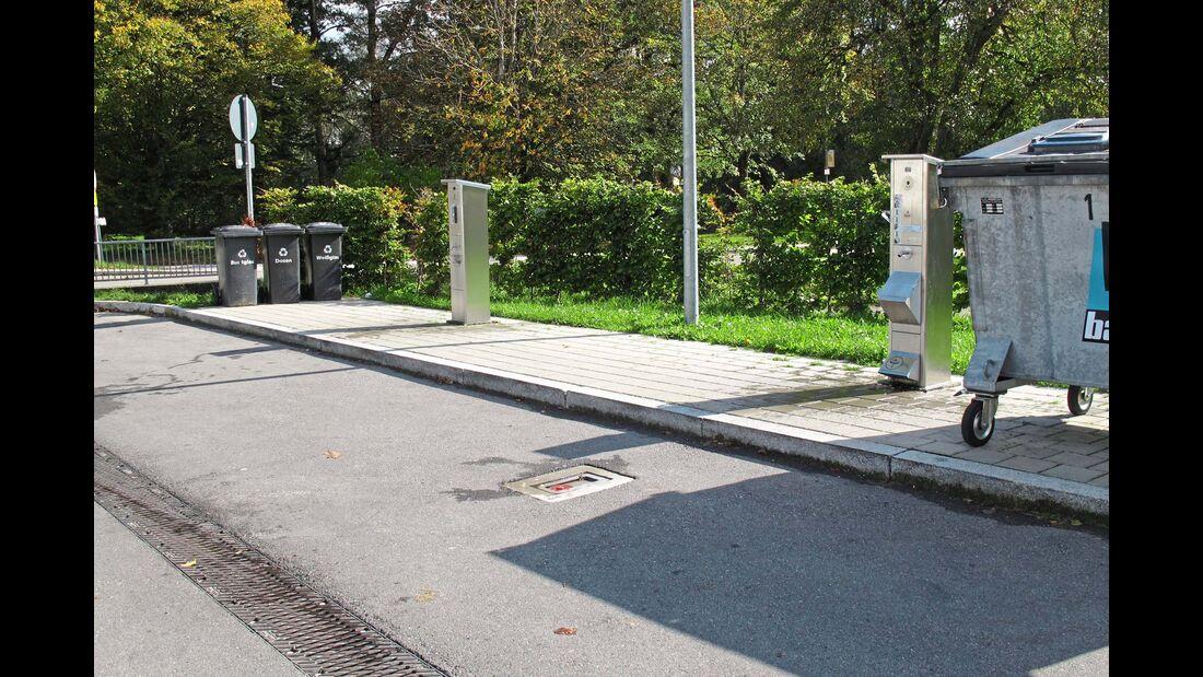 Stellplatz an der Waldsee-Therme Ver- & Endsorgung