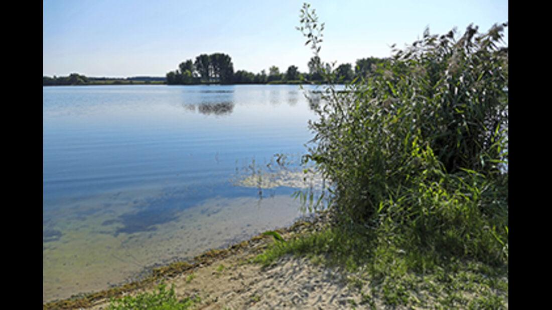 Stellplatz der Fischerei Reimer in Blankensee