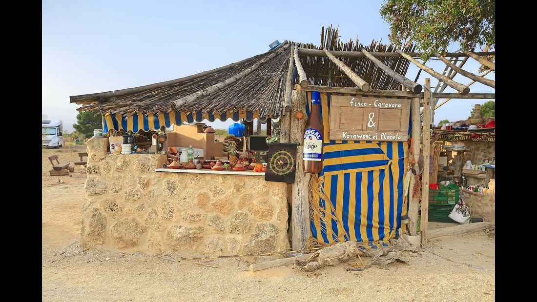 Stellplatz des Monats Finca-Caravana
