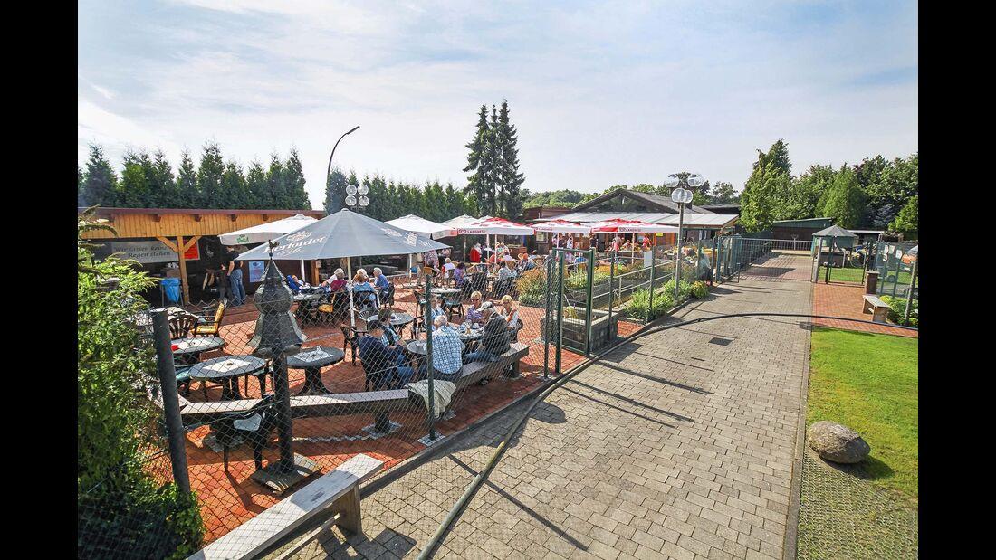 Stellplatz des Monats NRW Biergarten