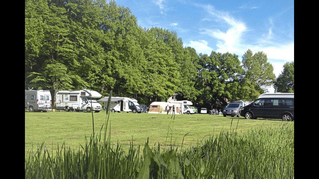 Stellplatz des Monats NRW Campingwiese