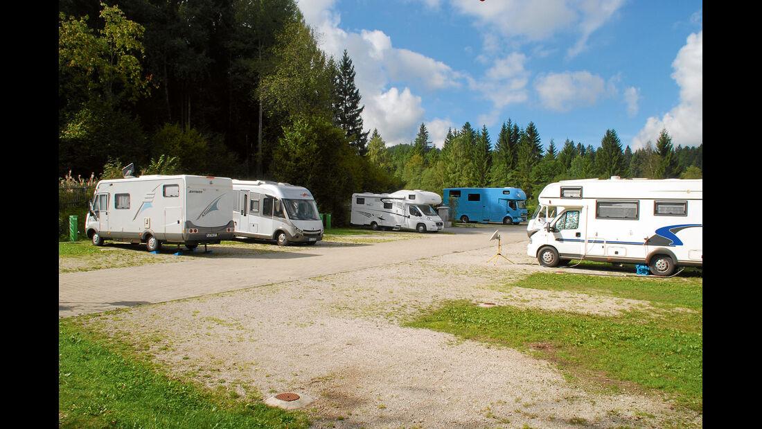 Stellplatz des Monats: Reisemobilhafen am Alpen-Caravanpark Tennsee