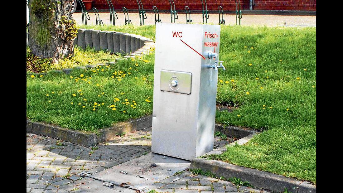 Stellplatz des Monats: Wittenberge