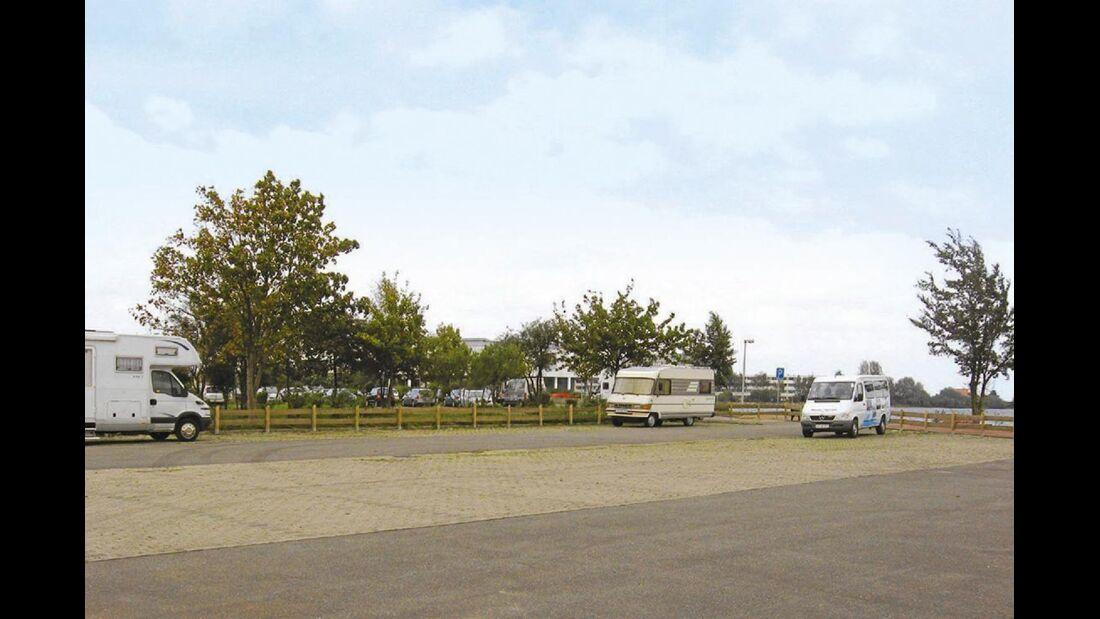 Stellplatz in Heiligenhafen