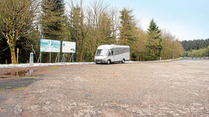Stellplatz in Oberhof