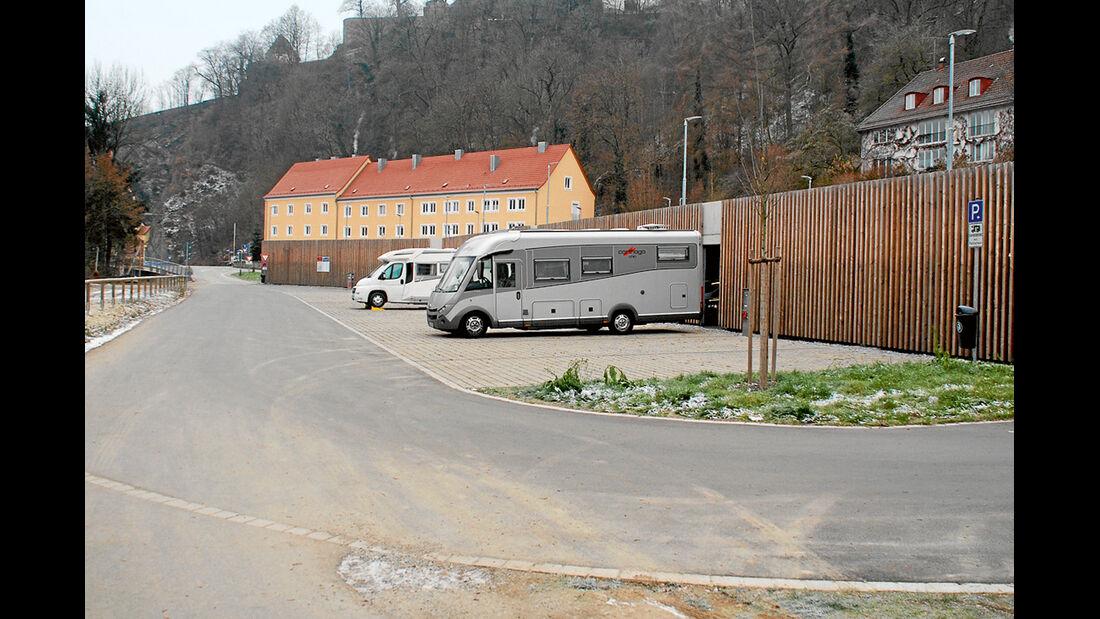 Stellplatz in Passau