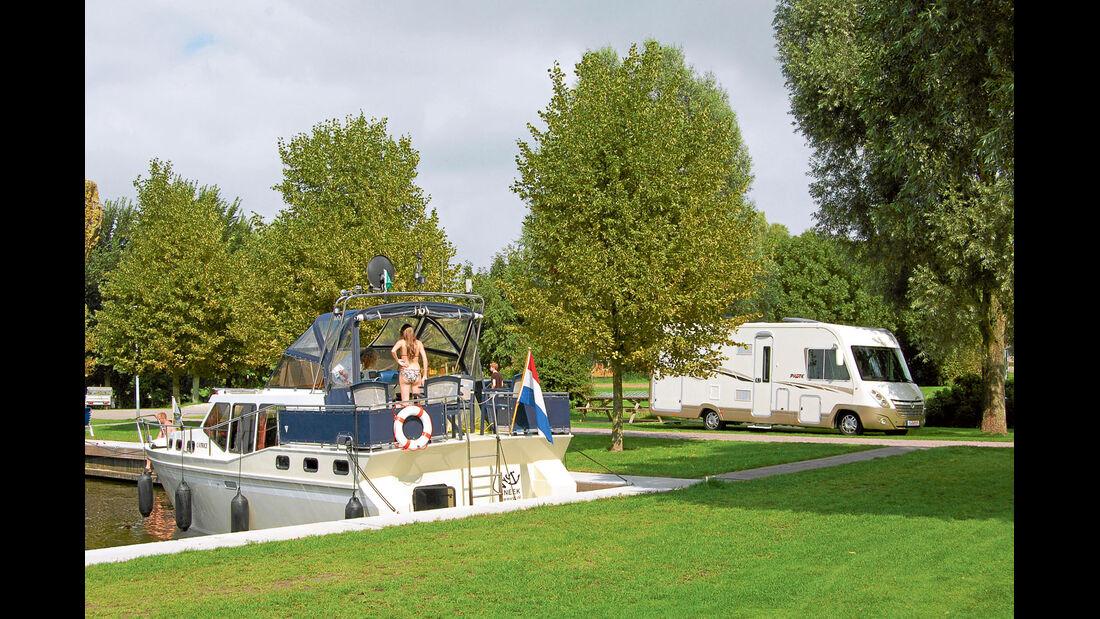 Stellplatz in den Niederlanden