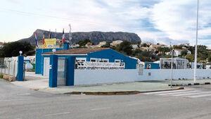 Stellplatz zwischen Valencia und Alicante.