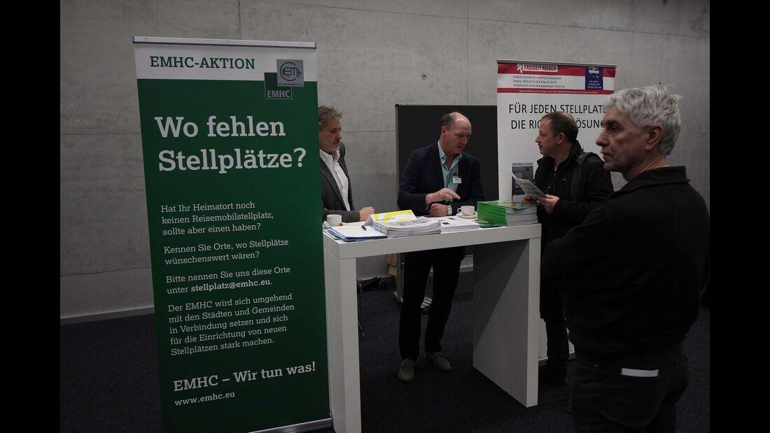 Stellplatzgipfel CMT 2018 Stuttgart