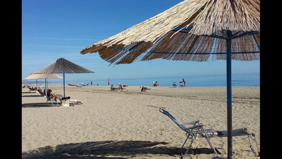 Strand Campingplatz