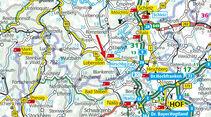 Straßenkarte Bad Lobenstein